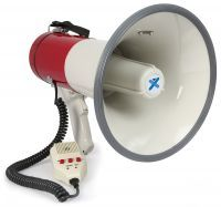 2e keus - Vonyx Megafoon met Record en Sirene functie 50W MEG050