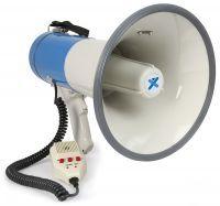 Vonyx Megafoon met USB & SD speler, sirene en afneembare mic 60W MEG060