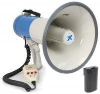 Vonyx Megafoon met Sirene, Record, USB en SD 65W MEG065