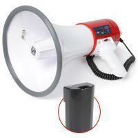 SkyTronic 30 Watt megafoon met USB / SD mp3 speler incl. accu