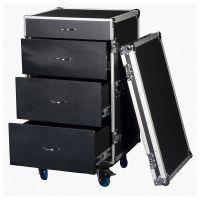 DAP-Audio Flightcase op wieltjes met 4 lades