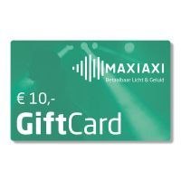 MaxiAxi GiftCard t.w.v. € 10,-