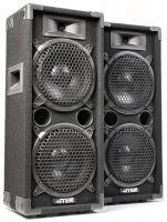 "MAX MAX28 1600W Disco Speakerset 2x 8"""