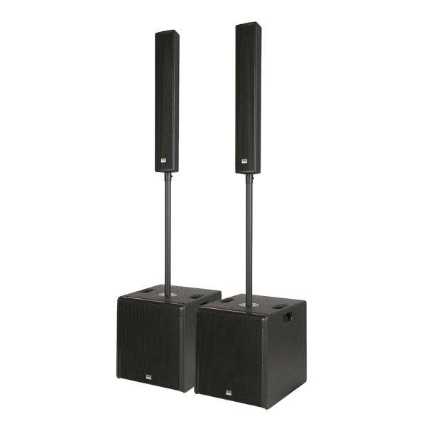 """Afbeelding van DAP-Audio """"Live Mini"""" actieve geluidsinstallatie met 2x subs en 2x top..."""