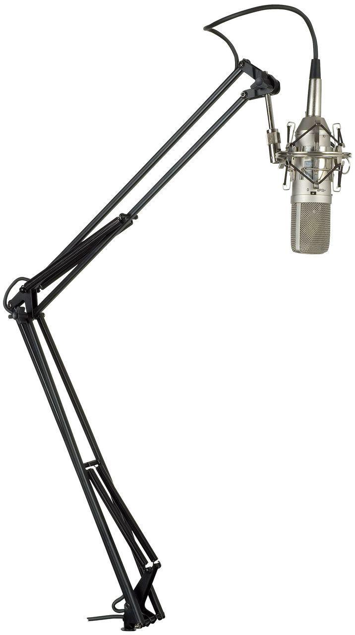 Afbeelding van 2e keus - DAP D8110 broadcasting stand / verstelbare microfoon arm...
