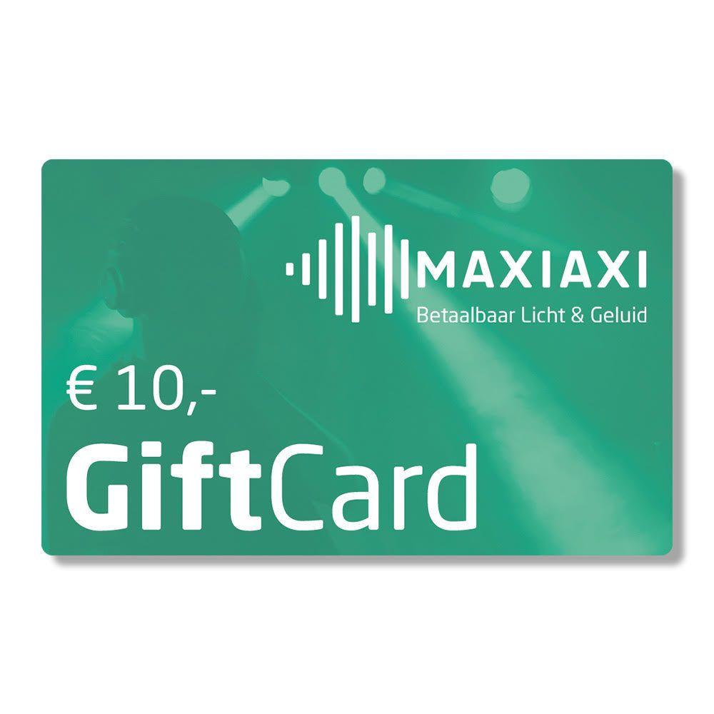 Afbeelding van MaxiAxi GiftCard t.w.v. € 10,-...