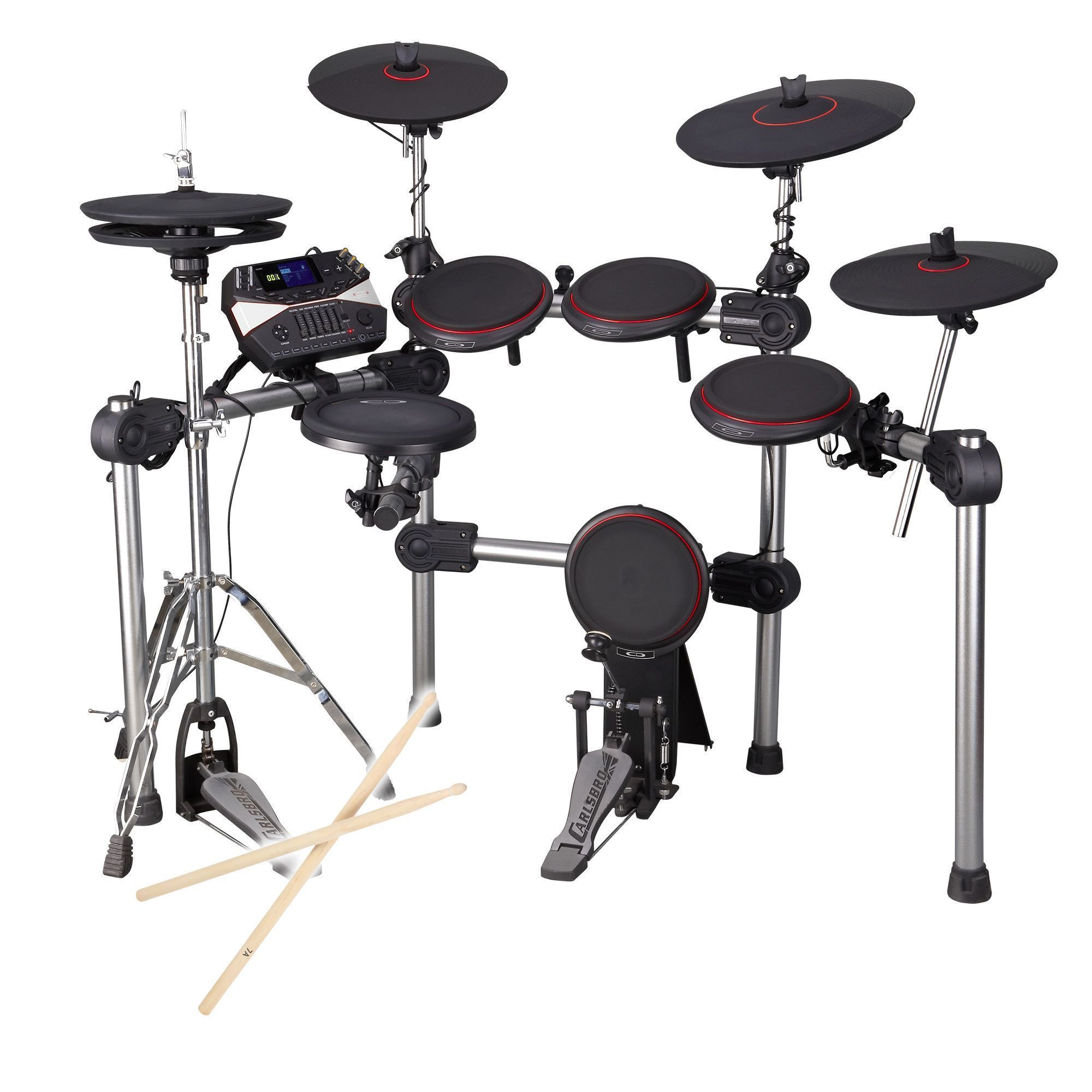 Afbeelding van Carlsbro CSD310 elektrisch drumstel met 9 real feel pads...