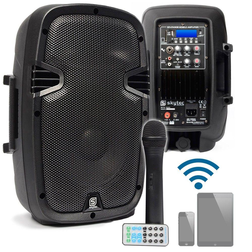 Dagaanbieding: SkyTec SPJ-PA908 Mobiele Geluidsinstallatie met bluetooth
