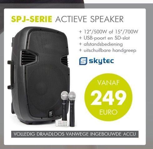 SPJ-Serie Actieve speaker