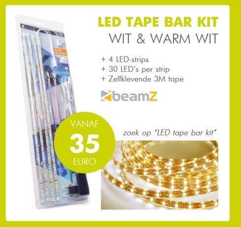 LED Tape Bar Kit