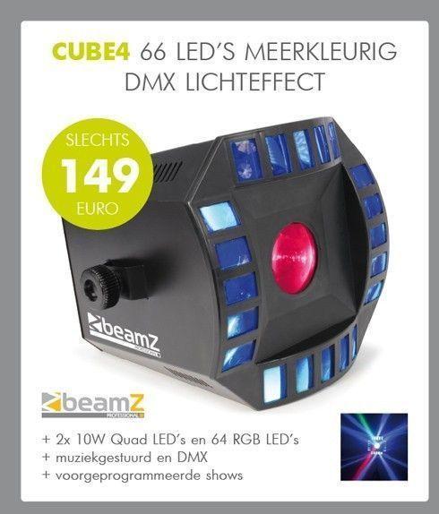 BeamZ Cube4 LED lichteffect