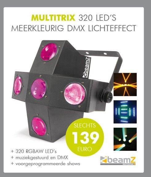BeamZ MultiTrix 320 LED lichteffect