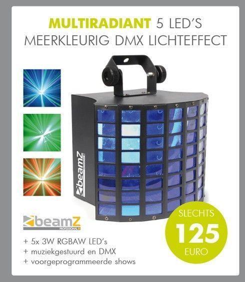 BeamZ MultiRadiant LED lichteffect