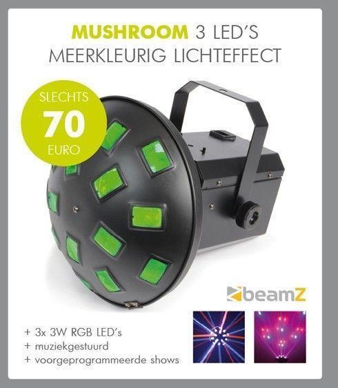 BeamZ Musroom LED lichteffect