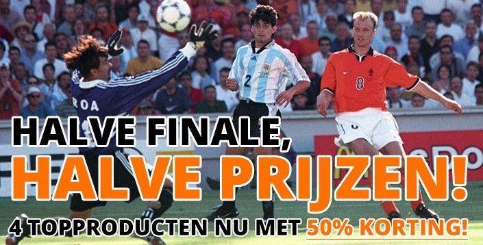 WK Axi - Halve finale, halve prijzen!
