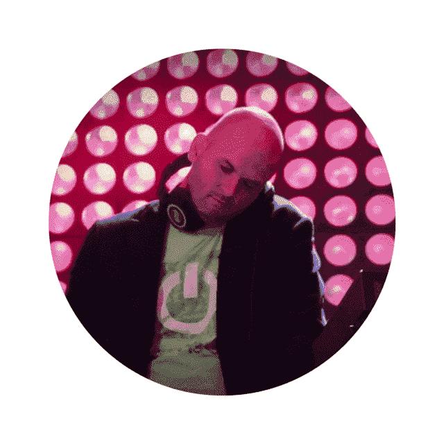 DJ Rob in actie