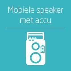 Mobiele speakers met accu