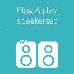 Plug & Play speakersets
