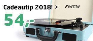 Bestseller 2018! Fenton RP115 platenspeler met Bluetooth en USB