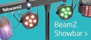 BeamZ Showbar lichtset met laser