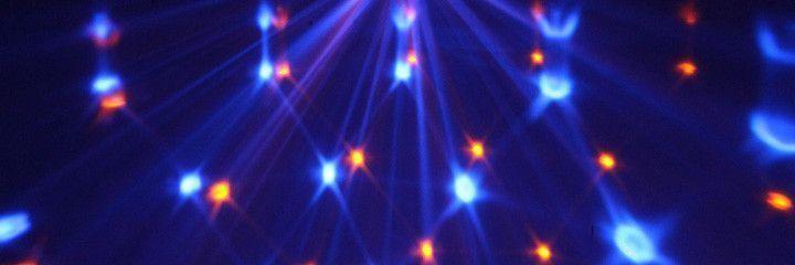 MAX LED Lichteffect Jelly DJ Ball