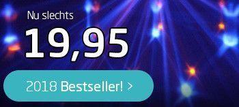 Bestseller 2018! MAX LED Lichteffect Jelly DJ Ball