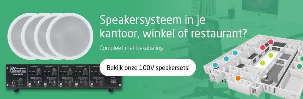 Speakersysteem in je kantoor, winkel of restaurant?