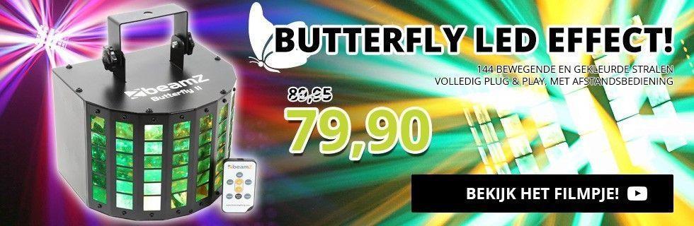 Butterfly LED Lichteffect voor maar 79,90!