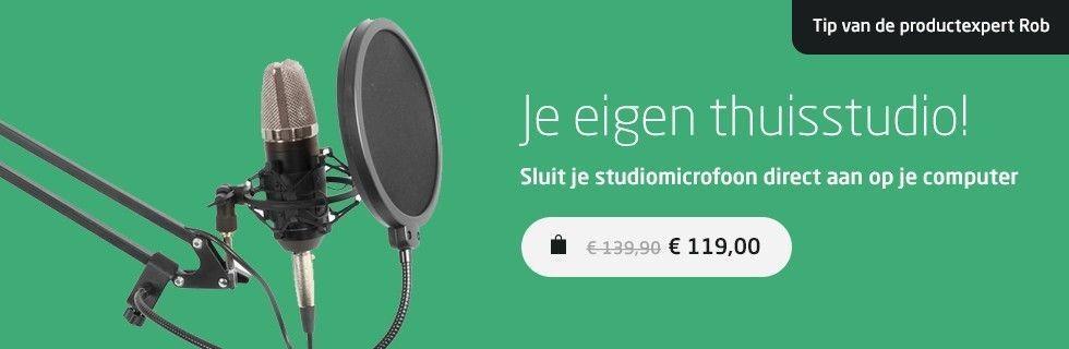 Vonyx Studiomicrofoon set voor maar 69,-!