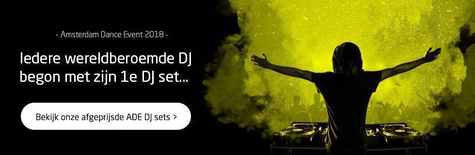 Bekijk onze afgeprijsde ADE DJ sets!