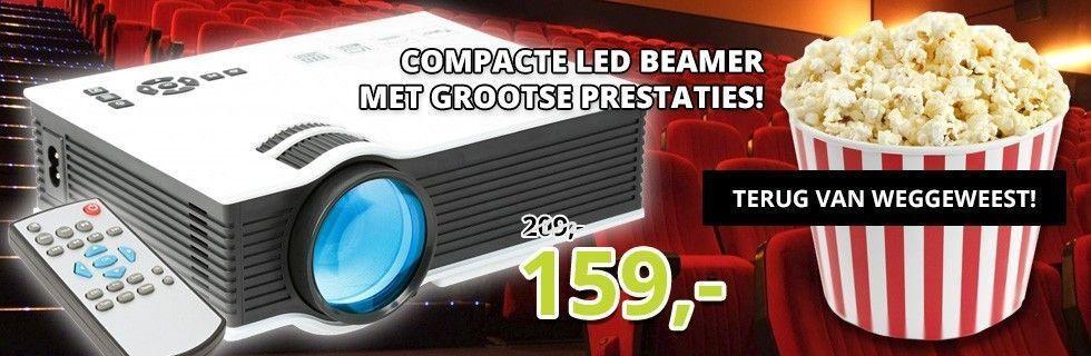 Fenton X20 Beamer - Compacte LED Beamer met grootse prestaties