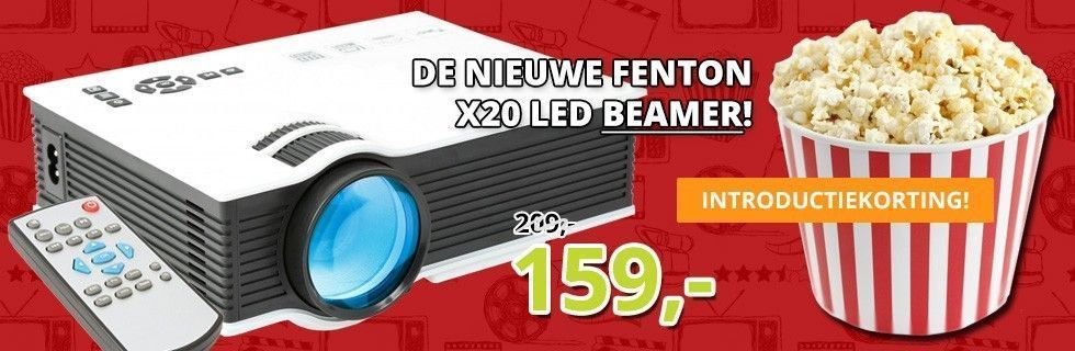 De nieuwe Fenton X20 LED Beamer