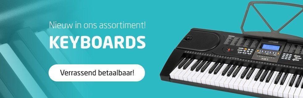 Nieuw in ons assortiment! Keyboards