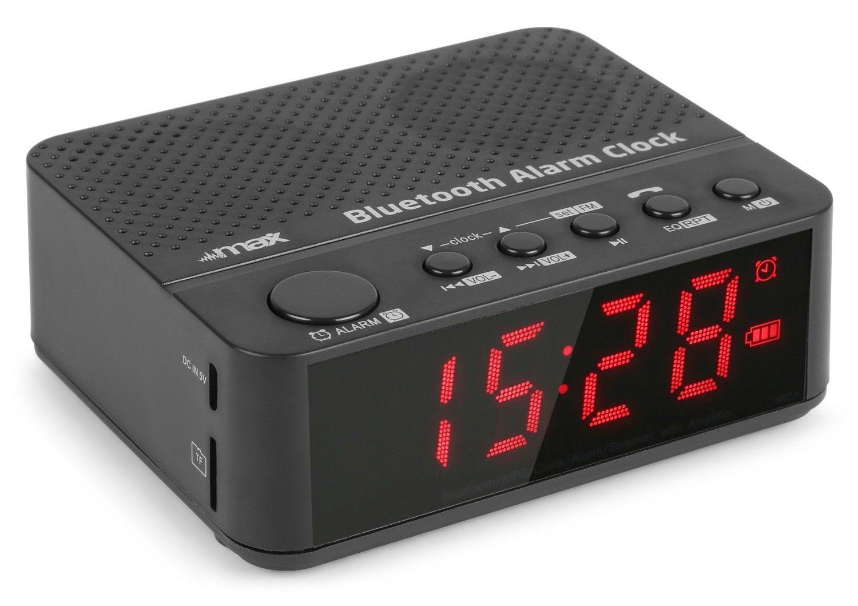 Max MX4 Bluetooth speaker en wekkerradio op accu