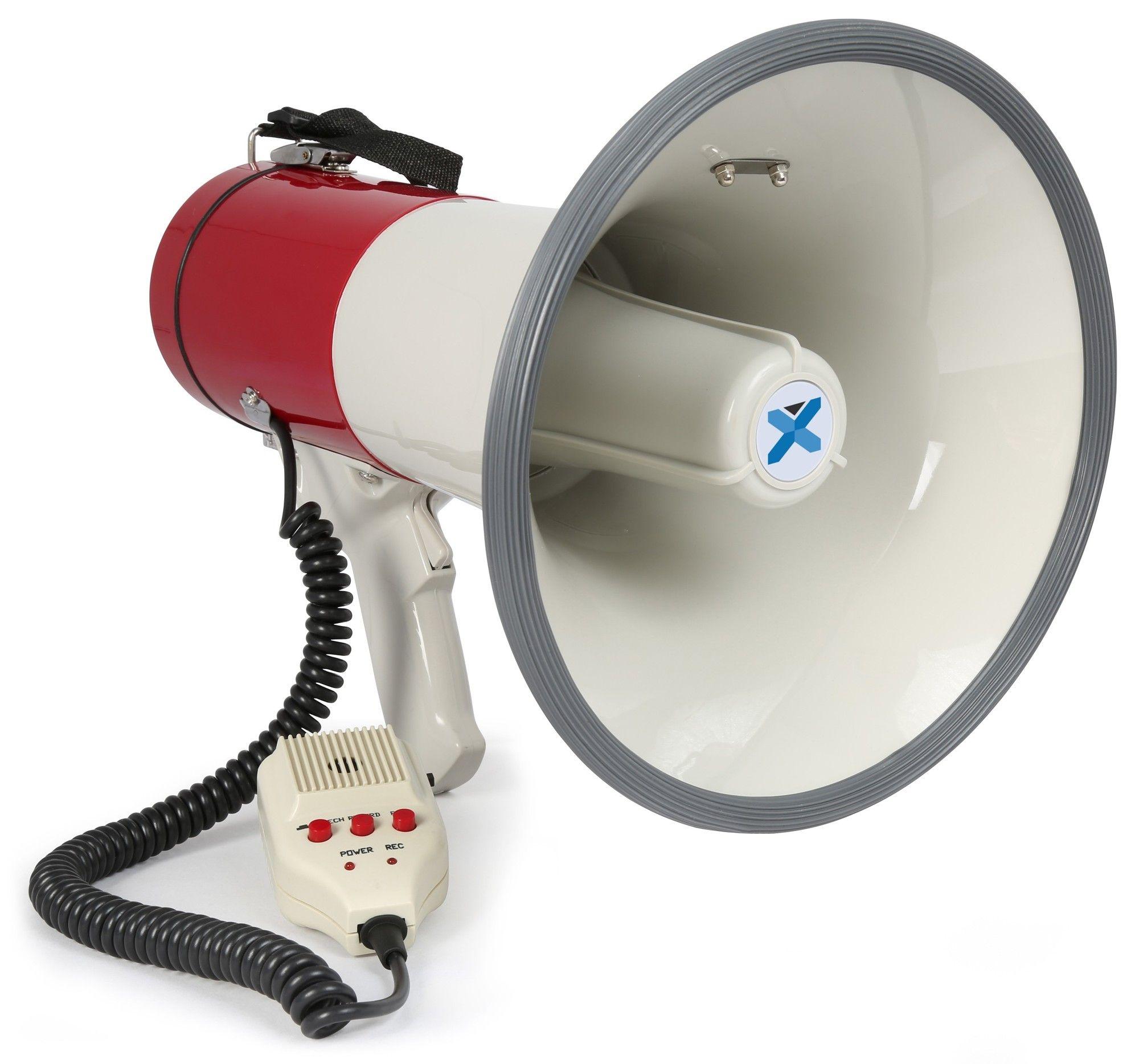 Vexus MEG050 50W megafoon met sirene en opname