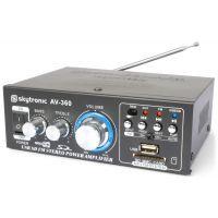 2e keus - SkyTronic AV-360 USB/MP3 Versterker met afstandsbediening