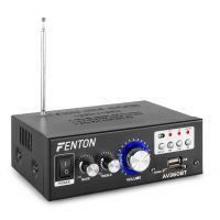 Fenton AV360BT versterker met Bluetooth en USB/SD mp3 speler