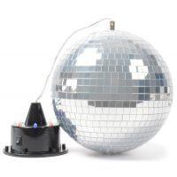 2e keus - BeamZ Spiegelbal met ingebouwde LED's en Motor met LED's