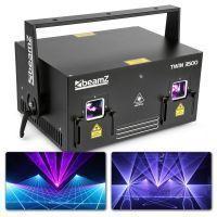2e keus - BeamZ Phantom Twin 3500 Pure Diode analoge 3500mW RGB Laser