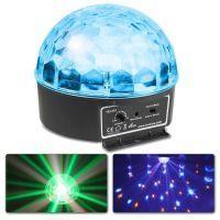 BeamZ Mini Star Ball Sound RGBAW LED 6x3W
