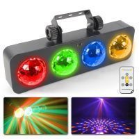 BeamZ LED DJ Bank BX met 4x 3W RGBA LED's en afstandsbediening