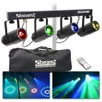 BeamZ 4-Some Lichtset 4x 57 RGBW LED's DMX