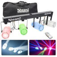 2e keus - BeamZ 4-Some Lichtset 4x 57 RGBW LED's DMX - Transparant