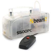 2e keus - BeamZ S500PC transparante kunststof rookmachine 500 watt met lichteffect