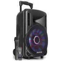 """2e keus - Fenton FT10LED karaoke speaker 450W 10"""" met LED verlichting"""