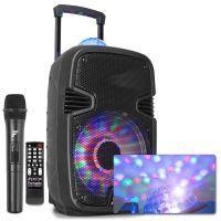 """Fenton FT12JB karaoke speaker 700W 12"""" met LED lichteffecten"""