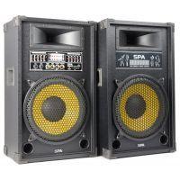 2e keus - SkyTec SPA1200Y Actieve Speakerset met MP3 speler