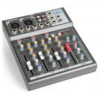 2e keus - Vonyx VMM-F401 4 kanaals muziek mixer met effect en USB speler