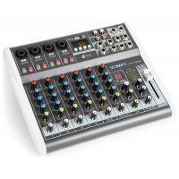 Vonyx VMM-K802 8 kanaals muziekmixer met Bluetooth en effecten