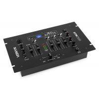 Vonyx STM2500 Mengpaneel 5 kanaals met USB, MP3 speler en Bluetooth